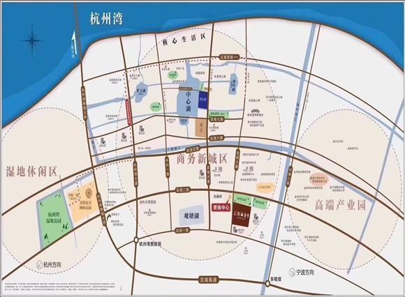 """地处杭州湾,知名房企打造的它配套很""""优秀""""!"""