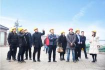 匠心筑家,精工筑城丨热烈欢迎中原建业集团领导莅临邓州建业城视察指导!