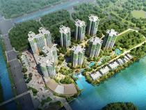 雅居乐民森迪茵湖小镇:在售三期【悦蓉花园】建面约83㎡-116㎡二三房单位,