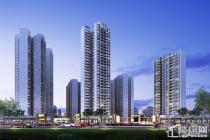 福晟天地:在售建面约98-119平米三房,均价11000元/平方米起。
