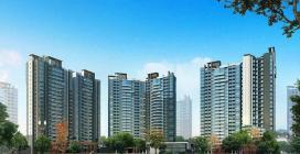 花海湾:在售建面约80-112平米二三房,均价15500元/平方米。