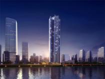 横琴金融岛轻轨物业 266米天幕都会 俯瞰三江交汇美景