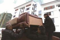 山早新家园初步建成 首批灾民搬进电梯房