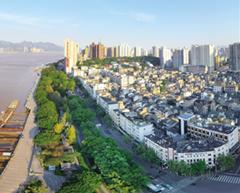 瓯江路核心区块望江东路即将改造提升