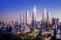 济南五指山,未来真核心——中央商务区CBD