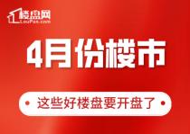 【楼盘网早报2020.4.3】4月份南昌上新潮开启,这些盘要开盘了
