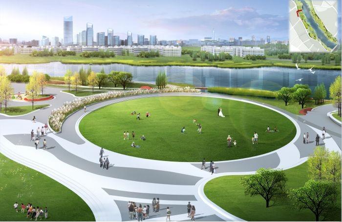 安昌河道波内部效果图流出,一起来看看这个地方的未来!