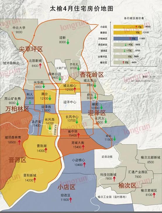 2020年4月太榆房价地图