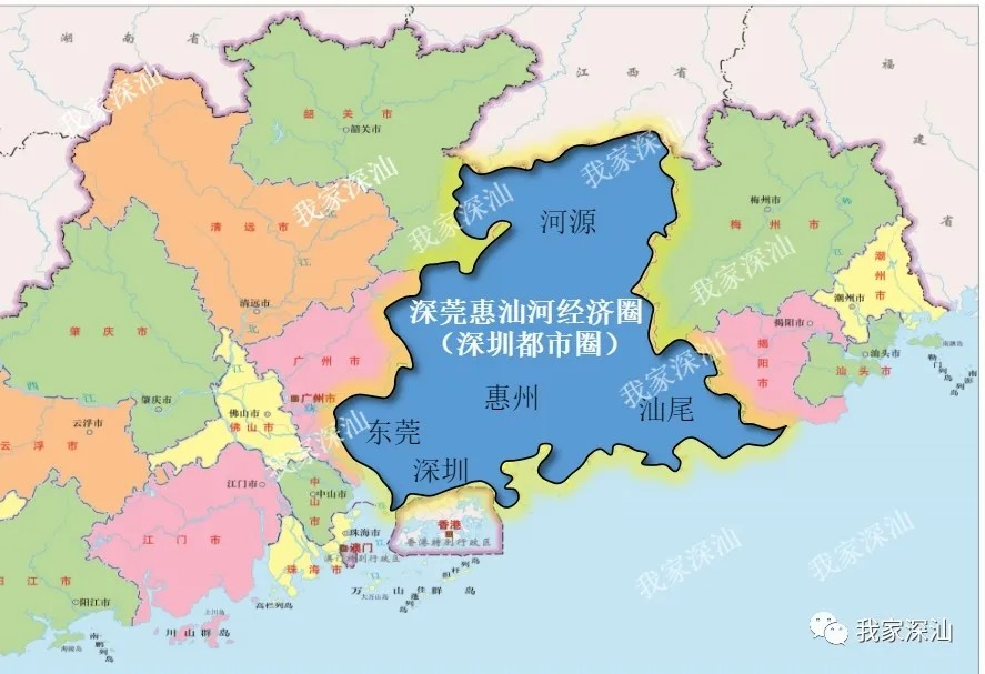汕尾加入深圳都市圈规划