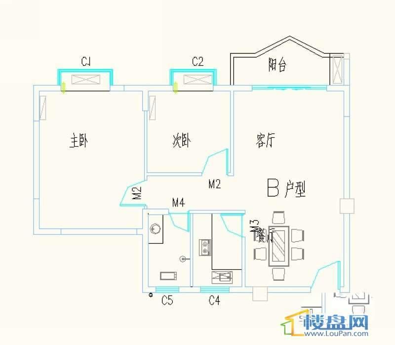 滨江芙蓉 户型图