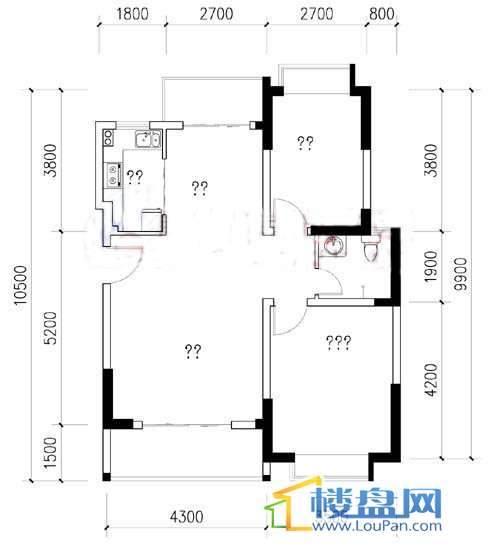 熙岸新铁度假村户型图