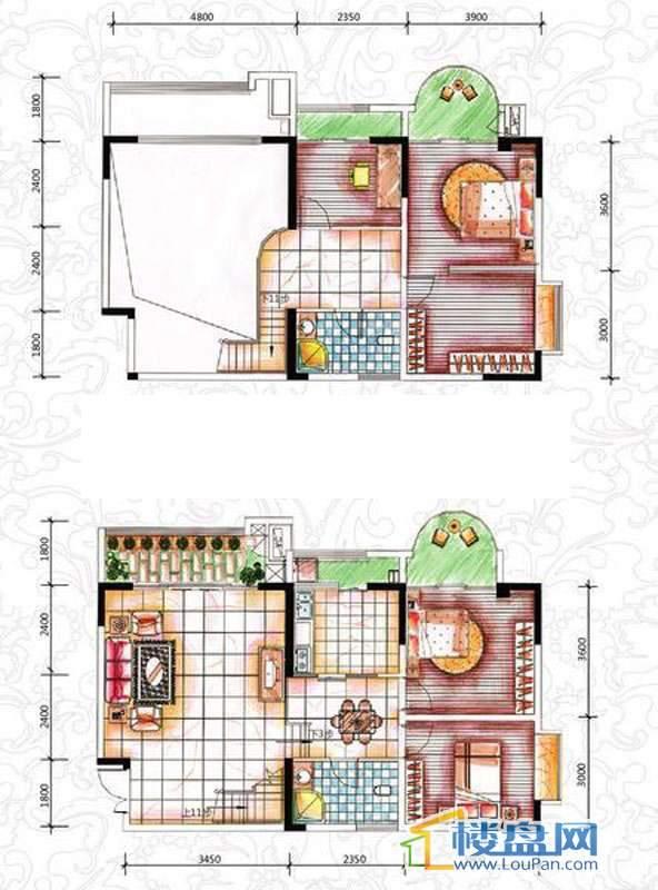 碧园花城9栋e4室4厅2卫1厨