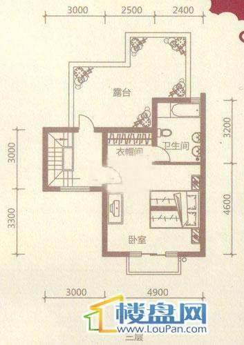贵财南窗雅舍16号楼上层三层5室3厅3卫1厨