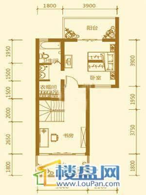 贵财南窗雅舍一号楼四层4室3厅3卫1厨