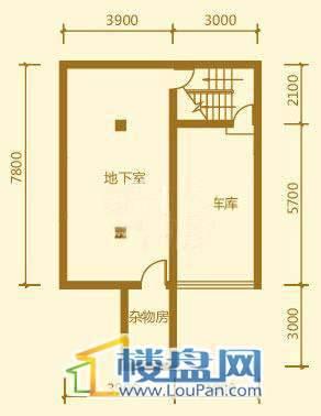贵财南窗雅舍6号楼下层一层4室3厅3卫1厨