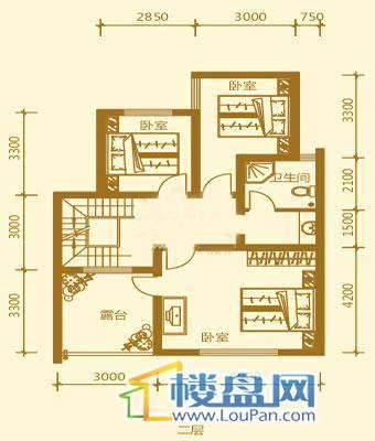 贵财南窗雅舍16号楼上层二层5室3厅3卫1厨