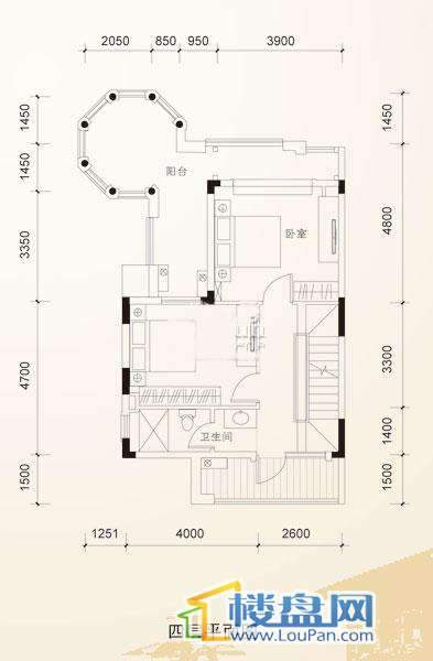 中天托斯卡纳S4-D四层