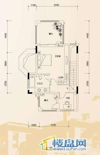 中天托斯卡纳林语华庭s2-d 五层