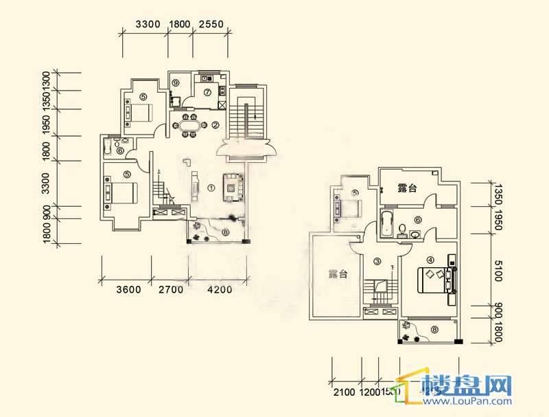 大兴星城B郡跃层户型24室3厅2卫1厨