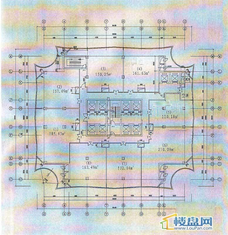 贵阳凯宾斯基大酒店楼层平面图