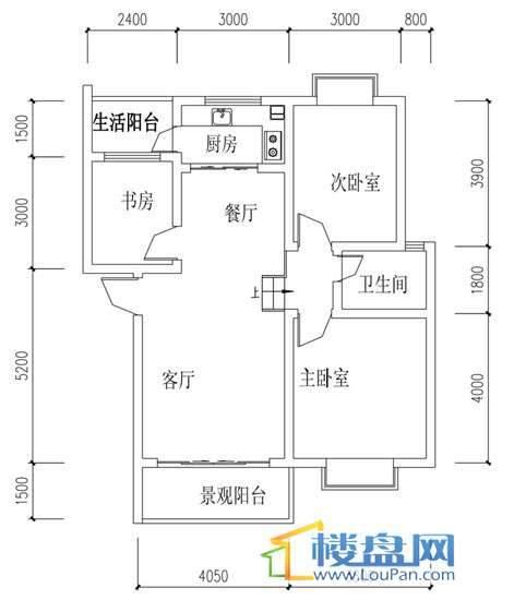 华屹锦城I组团11号楼1单元2号5单元1号3室2厅1卫1厨