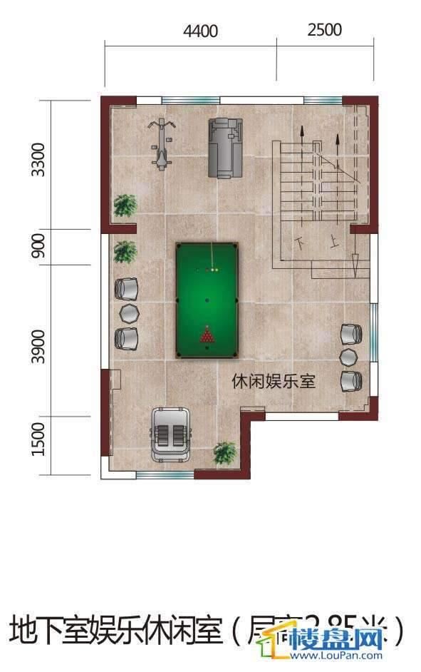 4栋1楼花园别墅
