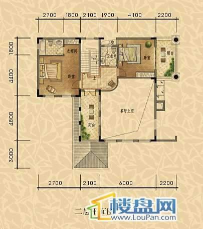 经典天成三组团独栋二层平面图 总建筑面积约395㎡.jpg