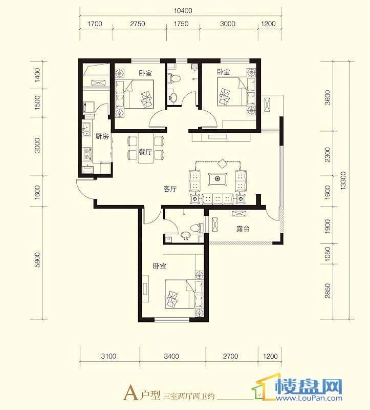紫金苑 户型图