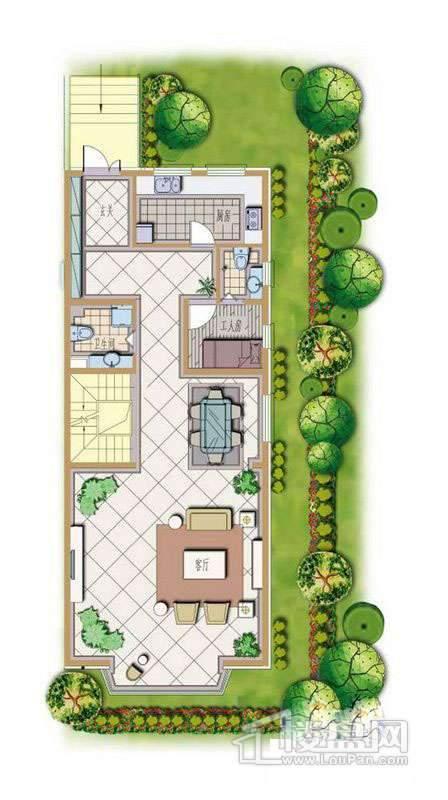 绿墅蓝山户型图