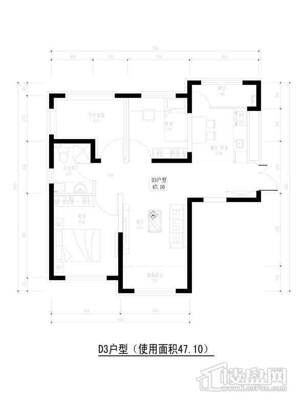 香榭丽舍户型图