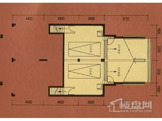 B1地下车库平面图