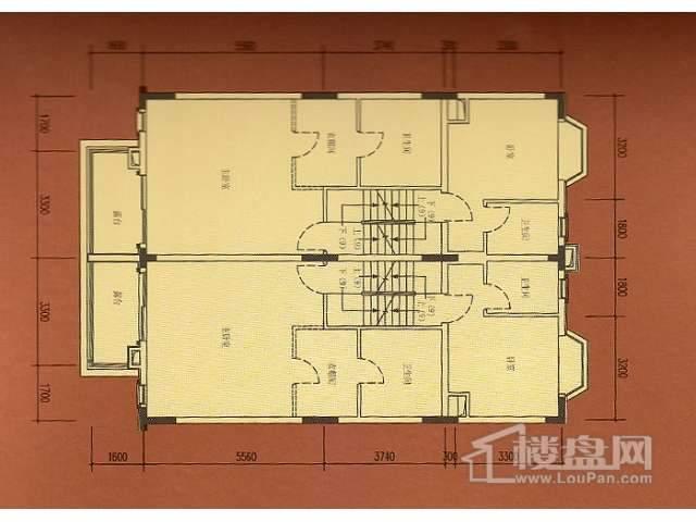 B2地下室平面图