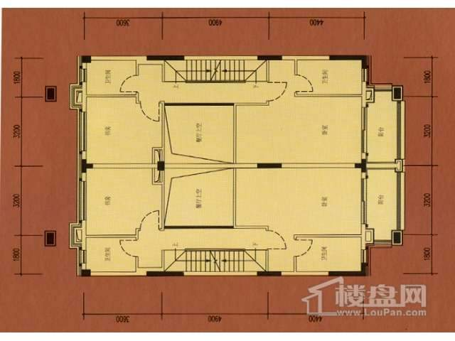 B1二层平面图