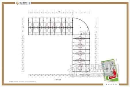 东升时代广场 户型图
