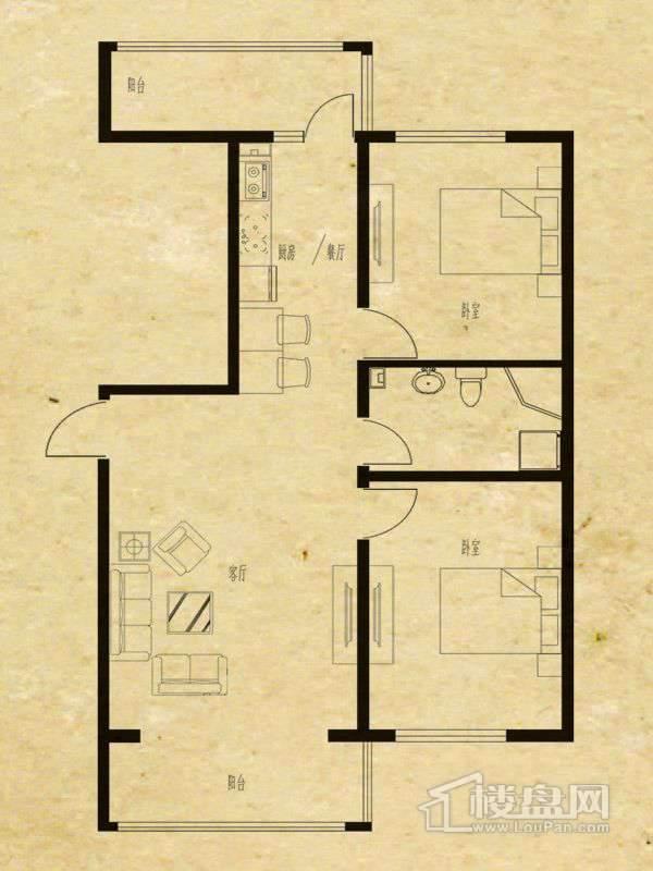 富佳新天地户型图G3-3号楼