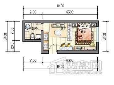 滨才城户型图24-C-2