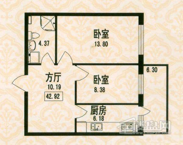 福宏名城户型图
