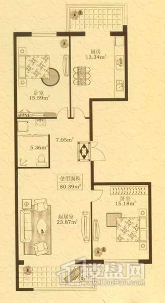 紫金城户型图