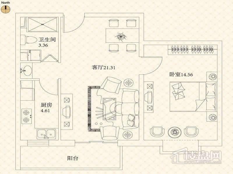 悦城户型图G1-G5号楼户型图