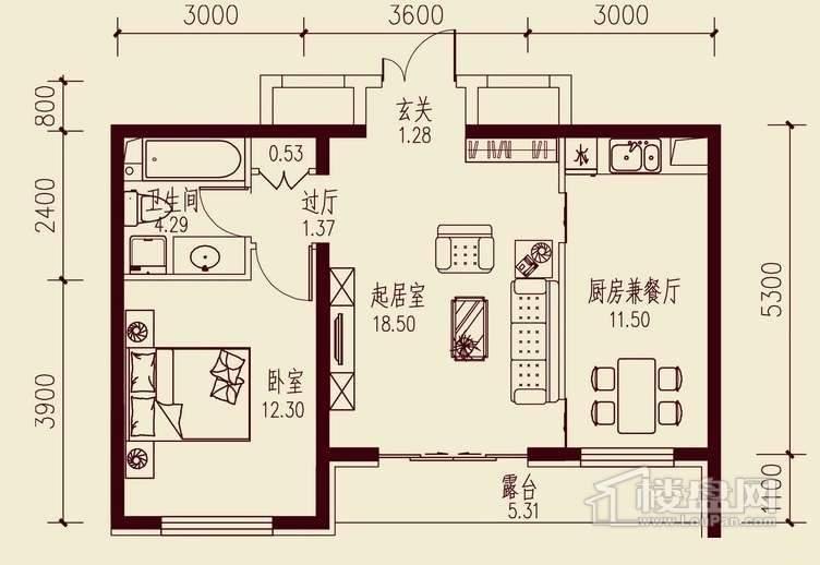 金色江湾户型图