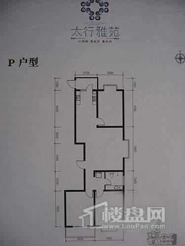 太行雅苑P户型3室2厅1卫1厨