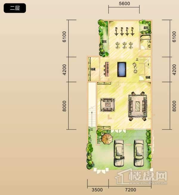 中铁共青湖 联排别墅3