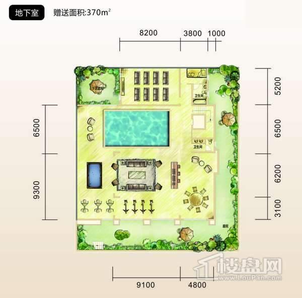 中铁共青湖户型图 1