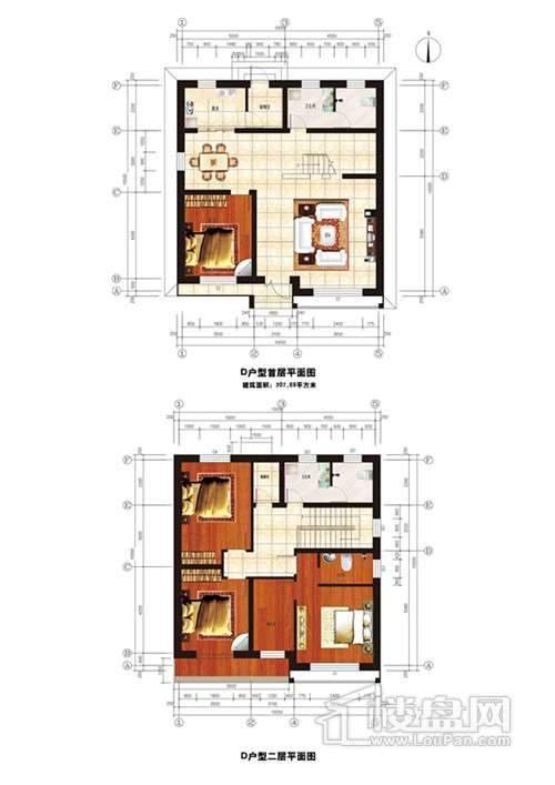 江南艺墅户型图