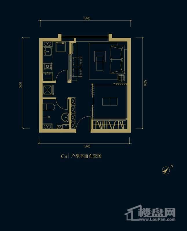 一期1、2、3#楼2-32层C反户型