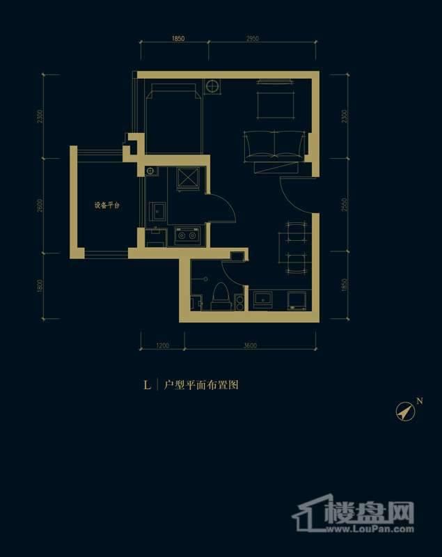 一期1、2、3#楼2-32层L户型