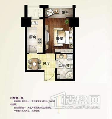 B-3户型1室1厅1卫