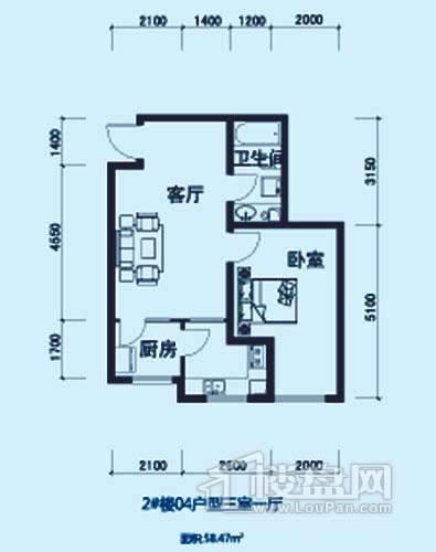 2#楼04户型