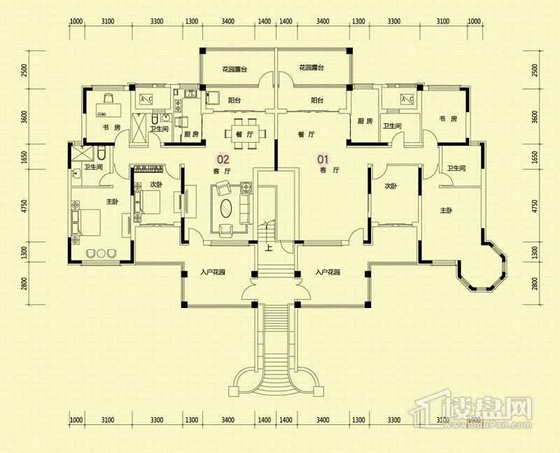 4-5-19-21-30-32-33-34号楼x2a二层.jpg