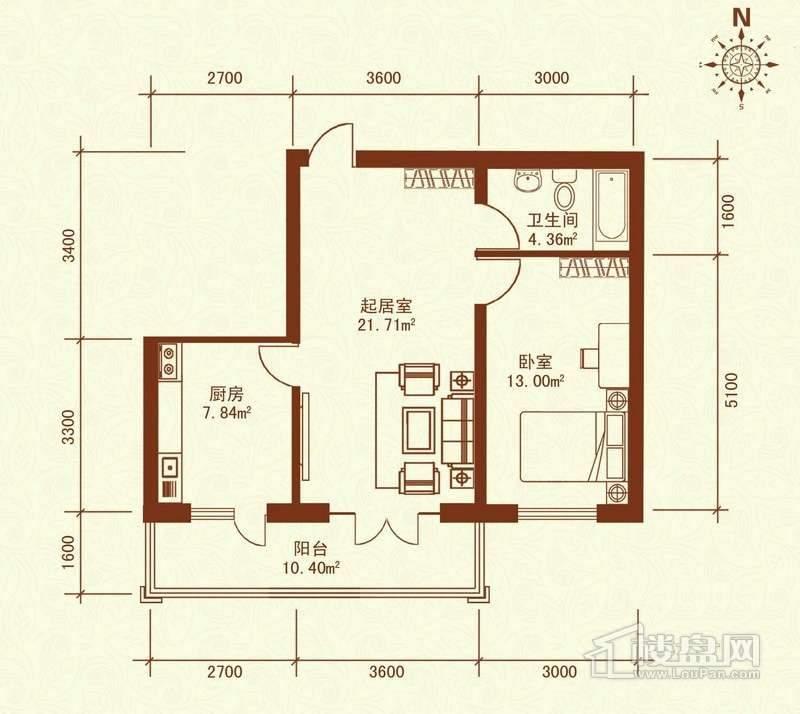 广电佳园户型图